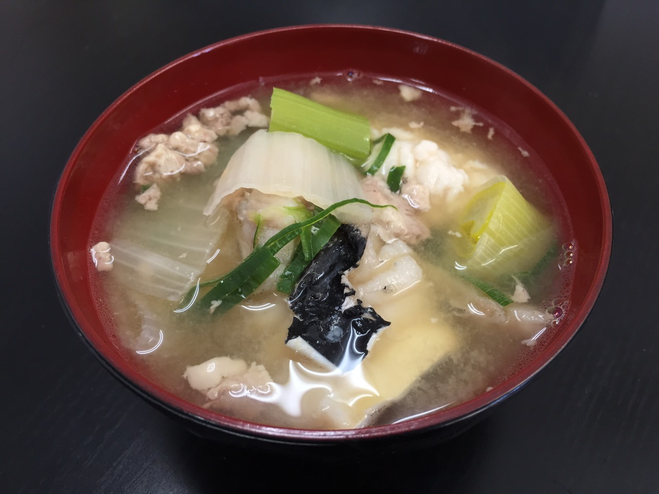 松本一本ねぎの鱈汁 (1)